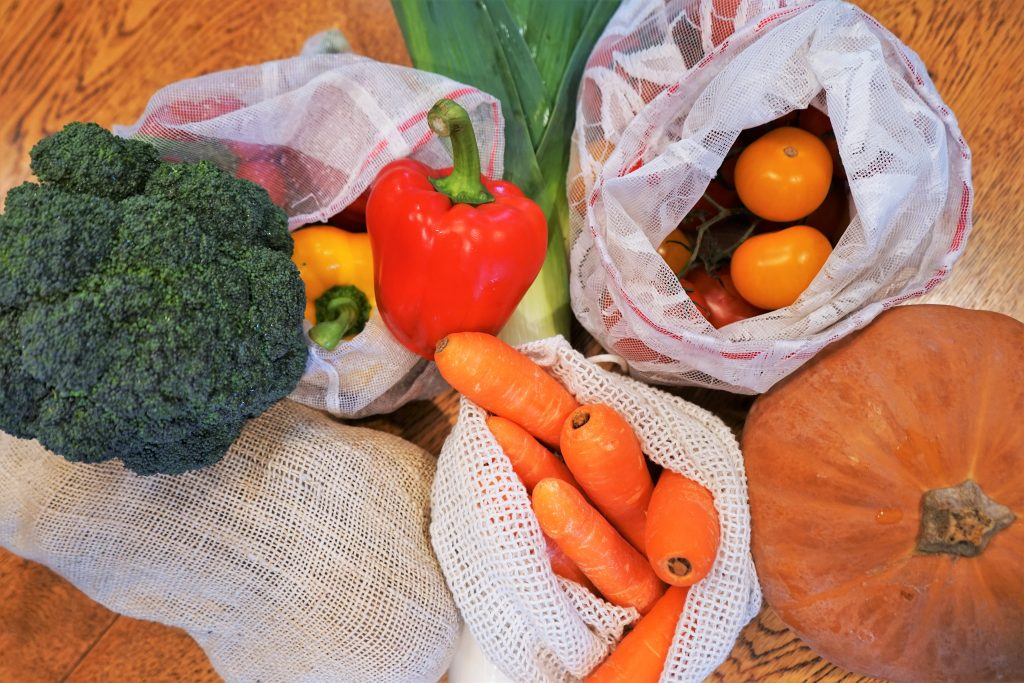 Buying locally grown food is a great way to develop more sustainable eating habits.