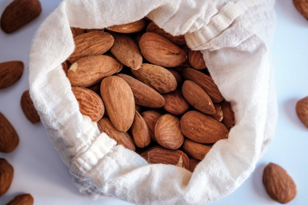 It is very easy to make almond milk out of raw almonds.
