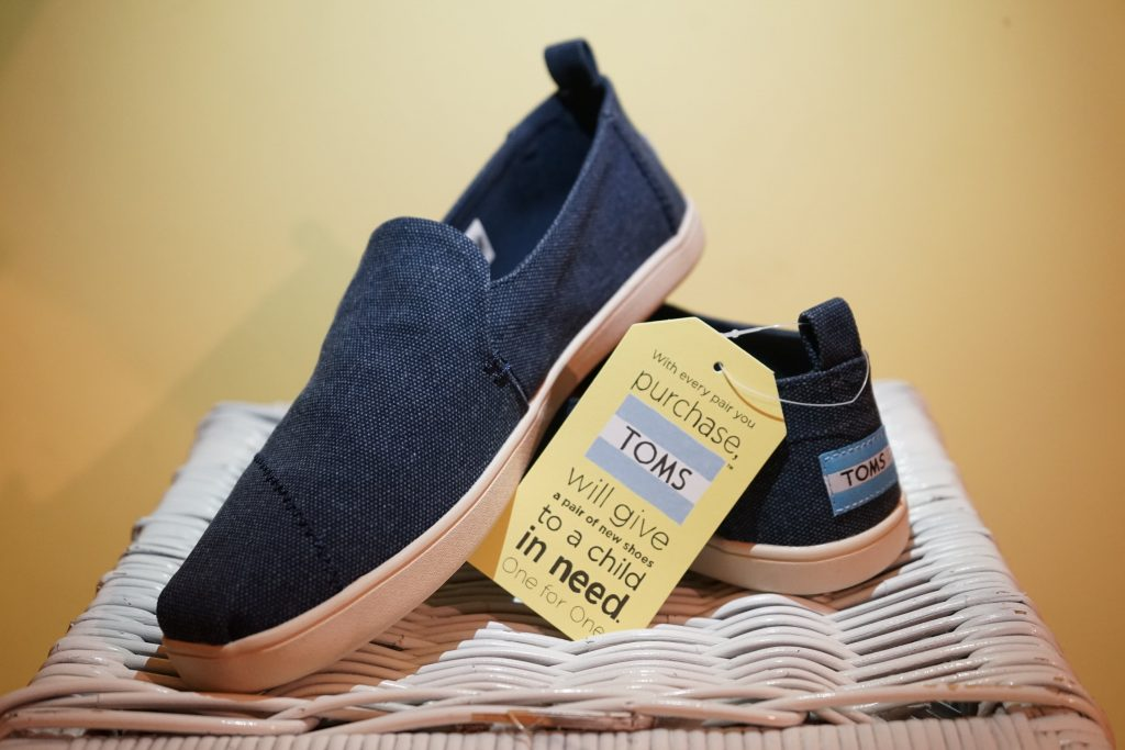 toms are a great sustainable and ethical shoe brand alternative