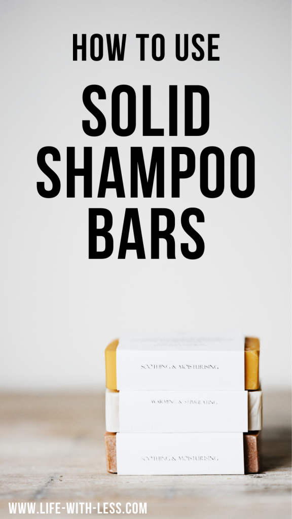 How to use solid shampoo? Here we answer all your questions like what ingredients do they have? Where can you buy solid shampoo? And how do you use it?! #shampoo #shampooandconditionersets #shampoonatural #shampoobars #soap #soapbars #ecofriendly #ecofriendlyliving #sustainable #sustainableliving #solid #solidtoiletries #toiletries #zerowaste #zerowasteliving #reduce #reducewaste #lifewithless